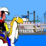 N° 9 : 2017 - Mississipi - Lucky Luke - Hommage à Morris