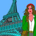 Paris - Jeanne - Hommage à Gibrat