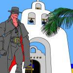N° 11 : 2018 - Playa Del Carmen - Zorro - Hommage à Mc Mulley