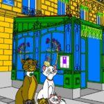 N°4 - 2018 - Paris - Les Aristochats - Hommage à Disney