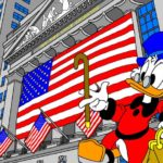 N° 7 : New York - Oncle Picsou - Hommage à Disney