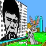 N° 18 - 2018 - New York City - Bugs Bunny - Hommage à Tex Avery