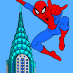 N°3  - 2018 - New York - Spiderman - Hommage à Ditko