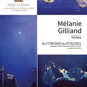 "Mélanie Gilliand - ""Blue Skies and Sunny Mood"""